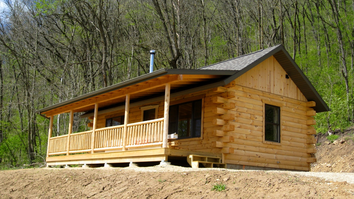 Simple Log Home Floor Plans Small Log Cabin Homes Plans Small Log Home With Loft